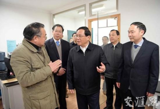 李强在扬州调研:抓好今年各项任务部署落实