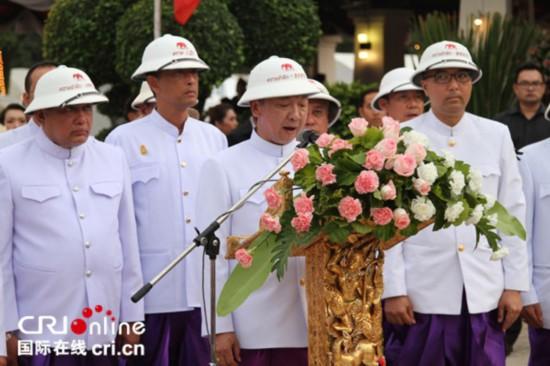 泰国达叻府各界庆祝回归泰国110周年(组图)