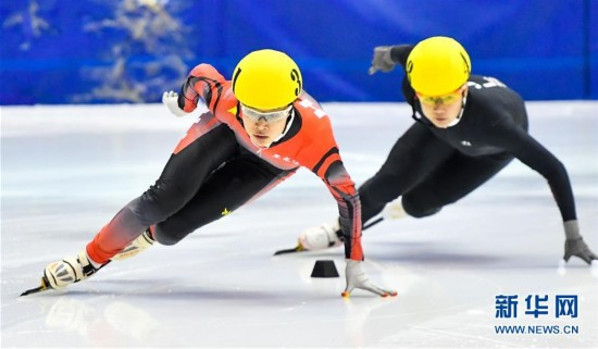 (体育)(1)短道速滑――全国冠军赛:徐爱丽获女子1000米冠军