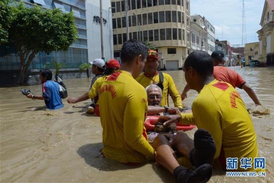 (外代一线)(1)秘鲁洪灾
