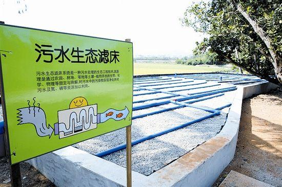 海棠区青塘村打造美丽乡村示范工程