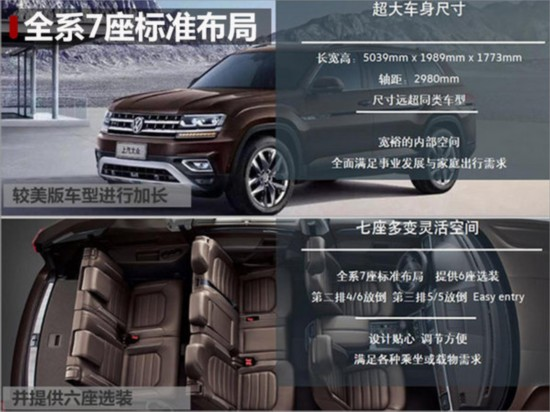 大众全新SUV途昂明日上市 预售31万起-图2