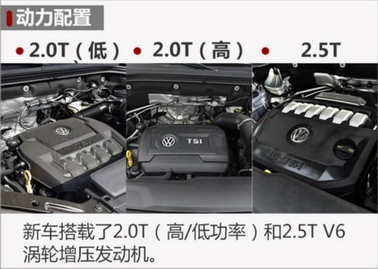 大众全新SUV途昂明日上市 预售31万起-图5
