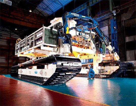 p73 SMD 自推进式系统挖沟产品