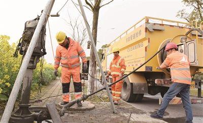 南通海门城区350公里雨污管道全面维护疏浚
