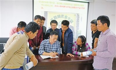 """定安红花岭村30多名农民避开农忙来""""充电"""""""