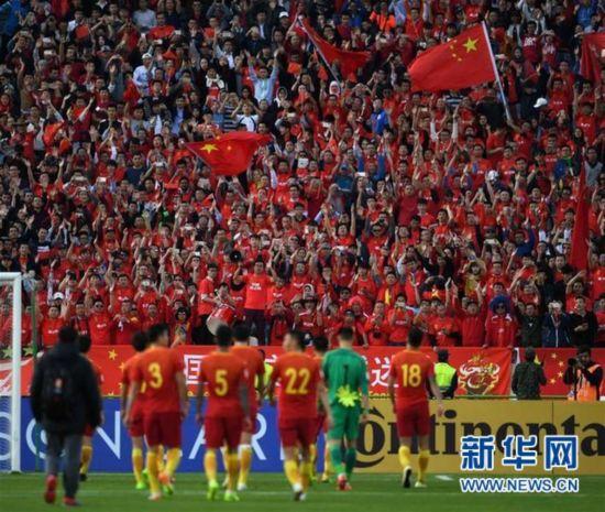 (体育)(7)足球――世预赛:中国不敌伊朗