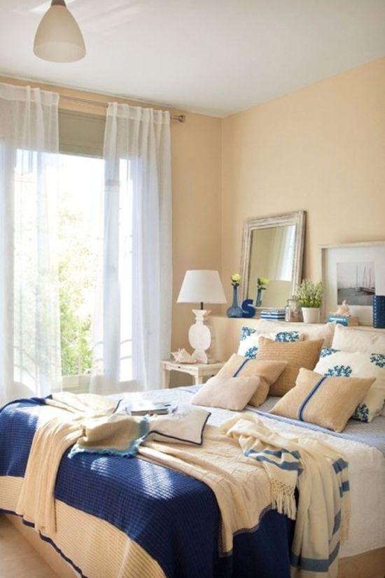 清凉海风吹进家 9款地中海风格卧室任你参考