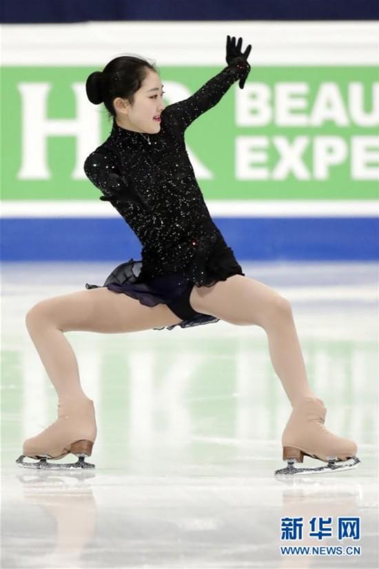 (体育)(4)花样滑冰――世锦赛:李子君女单短节目排名第20位