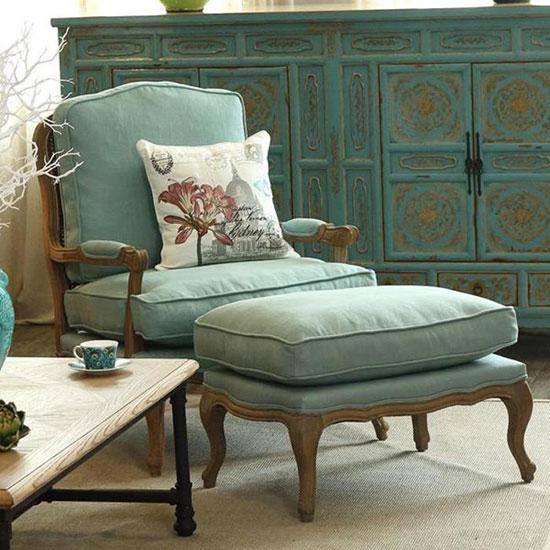 给家添一把单人沙发 细品生活