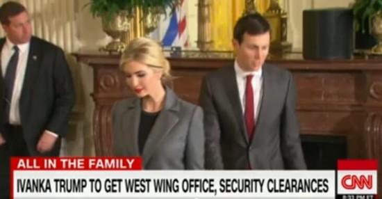 无薪资!特朗普之女伊万卡宣布将在白宫担任总统顾问