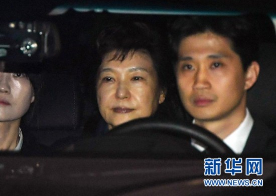 韩国法院批准逮捕前总统朴槿惠