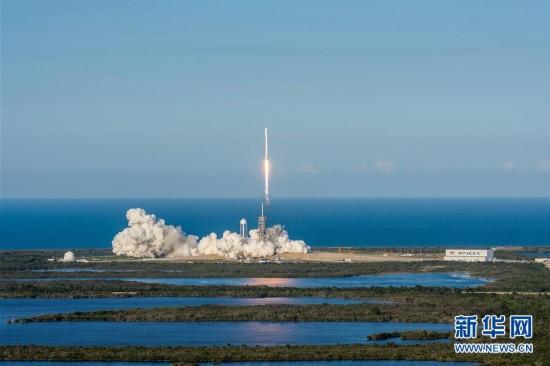 """美公司首次用""""二手""""火箭发射卫星"""