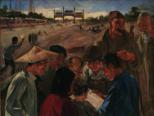 齐齐哈尔新闻网 中西皆通的市场热点画家吴作人走红