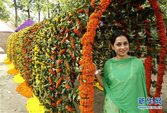 孟加拉国鲜花节