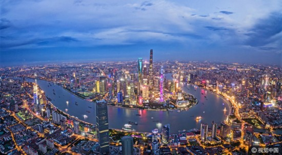 Shanghai Pudong New Area is now the second biggest administrative region of Shanghai. [Photo: VCG]