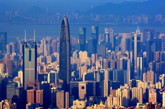 Shenzhen Special Economic Zone was the first special economic zone in China. [Photo: sznews.com]