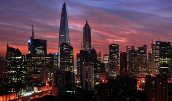 The Lujiazui Finance and Trade Zone is located in Shanghai Pudong New Area. [Photo: pudong.gov.cn]