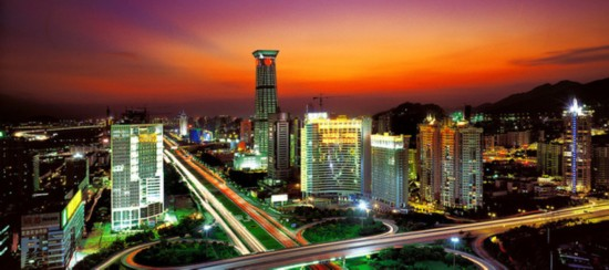 This is a current photo of Shennan Avenue in Shenzhen. [Photo: leju.com]