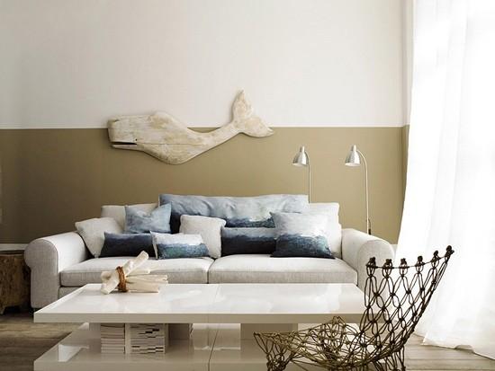 绝佳色彩个性空间 8款客厅沙发背景墙