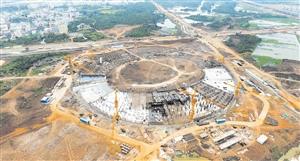 五源河体育场明年3月交付使用 总投资约9亿元