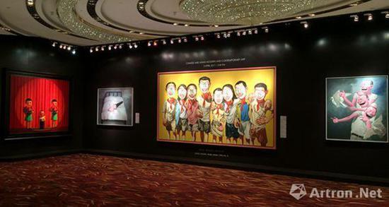 """中国及亚洲现当代艺术专场 预展现场   这次预展必到的""""拍照圣地"""""""