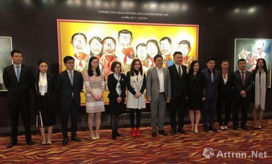 保利香港五周年全家福