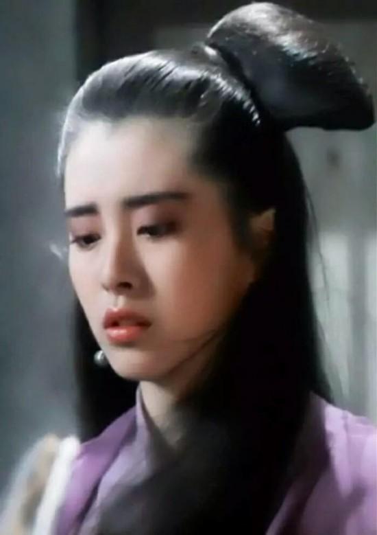 沈傲君朱茵王祖贤 没尖下巴气质超群的女神图片
