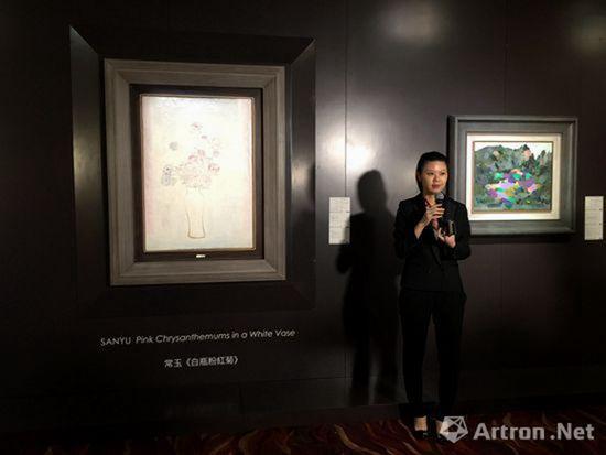 中国及亚洲现当代艺术部主管余箐悯 媒体导览