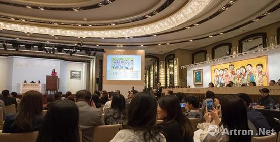 2017保利香港春拍 拍卖现场