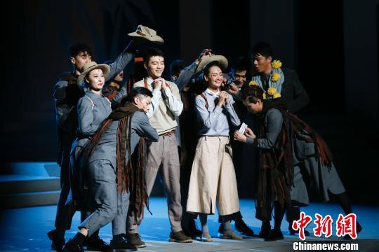 """国话首部音乐剧聚焦老龄化时代呼唤""""爱与亲情"""""""