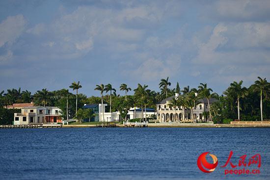 美国佛罗里达州棕榈滩海景。 韩莎莎摄