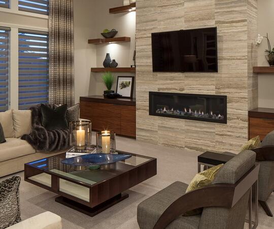 客厅颜值大提升 14个电视背景墙方案