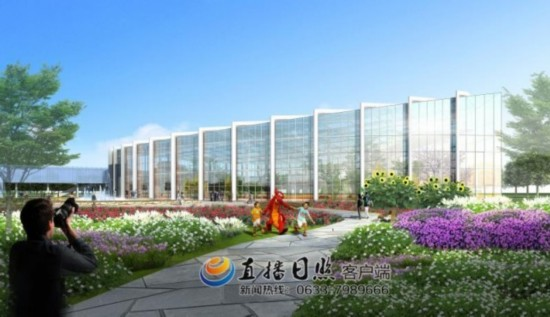 钢结构框架基本搭建完成,海洋馆的主体结构建设已经完成了约四分之三.