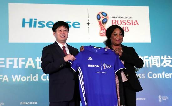 海信成为2018年FIFA世界杯官方赞助商