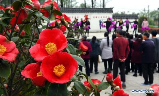 CHINA-ANHUI-SPRING SCENERY (CN)