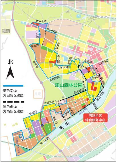 郑州自贸区规划图高清