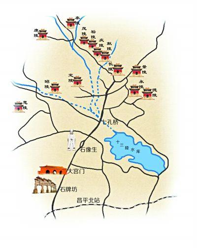 探访明帝陵:简朴的景陵与精妙绝伦的永陵
