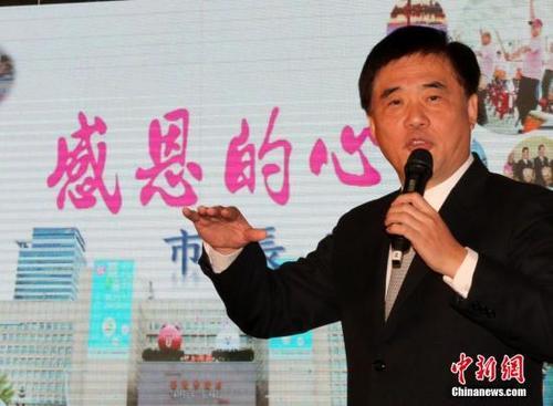 中国国民党五位党主席拟参选人发表政见着墨两岸关系
