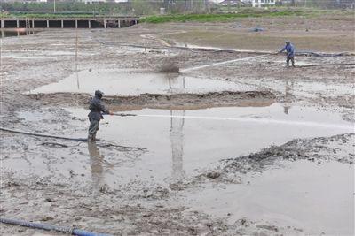南通海门高新区疏浚沟河打造亲水庄园