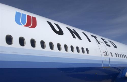 资料图片:美联航。(图片来源:美联航)