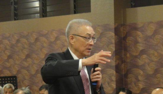 吴敦义回应支持者劝进2020:如当选一定派最好的人