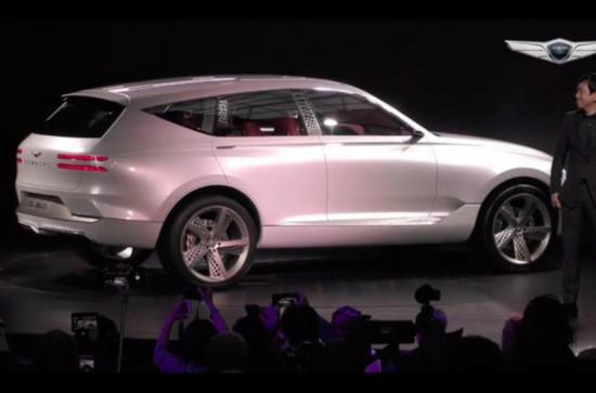 现代捷恩斯推全新豪华SUV 纽约车展亮相-图2