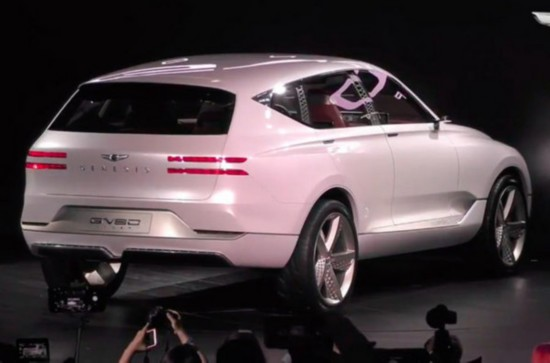 现代捷恩斯推全新豪华SUV 纽约车展亮相-图3