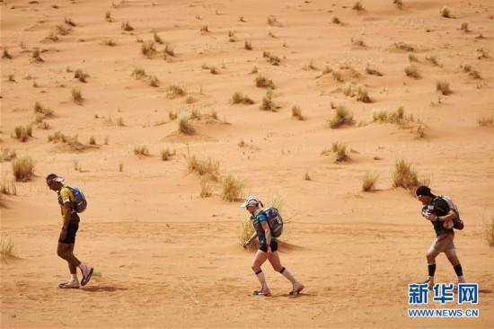摩洛哥沙漠超级马拉松赛第4赛段