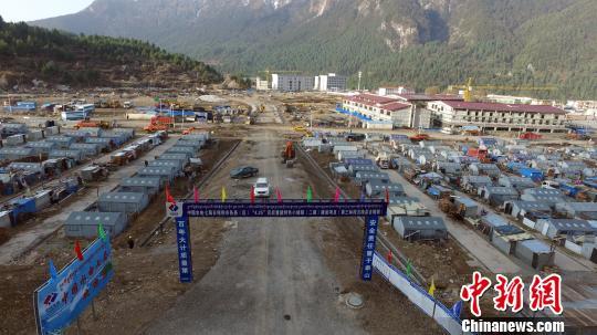 """中尼边境""""吉隆特色小镇""""建设完成近半"""