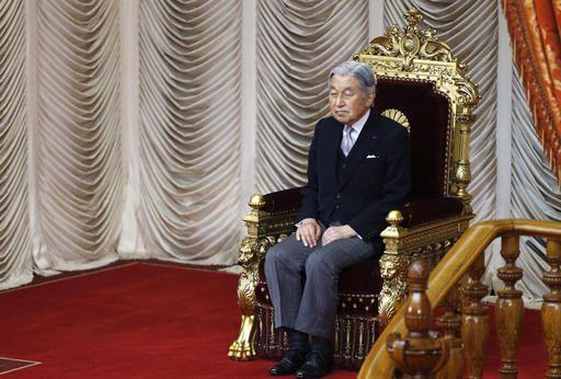 日媒:日本政府计划2018年12月举行天皇退位仪式