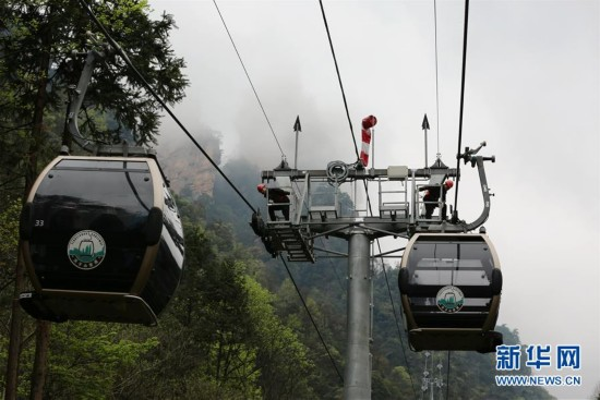 湖南张家界:巡检旅游设施保安全