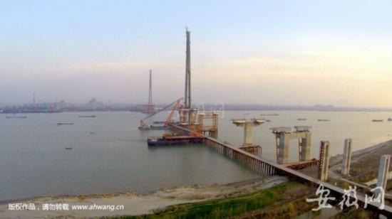 芜湖长江二桥已完成建设投资超八成