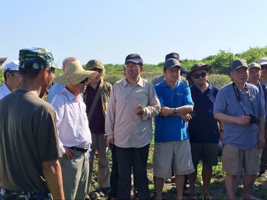 三沙市组织专家开展岛礁生态调研